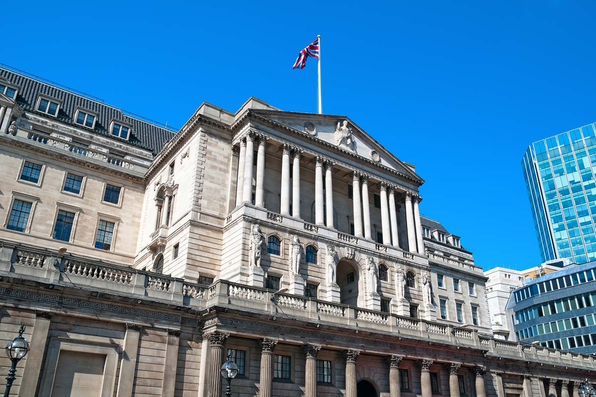Bank of England in London home of the MPC who set UK interest rates
