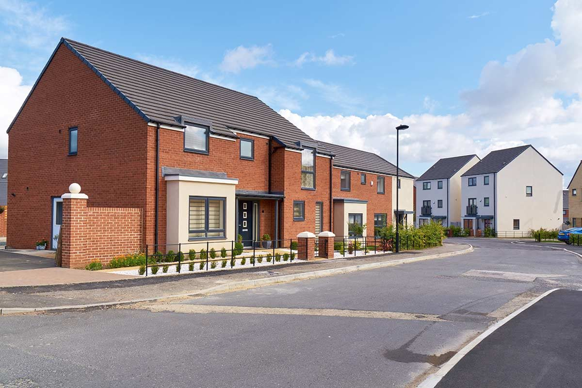 new build homes in the UK for help to buy